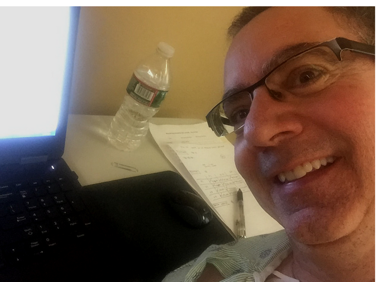 Still blogging while in the hospital / Mike Foti Innovate Building Solutions