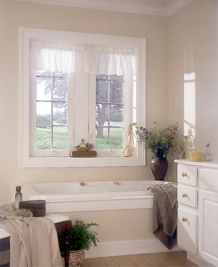 Casement style vinyl replacement windows in the Columbus Ohio