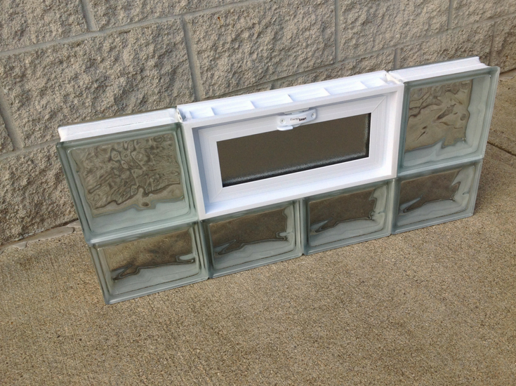 Stronger more energy efficient protect all glass block window from Innovate Building Solutions