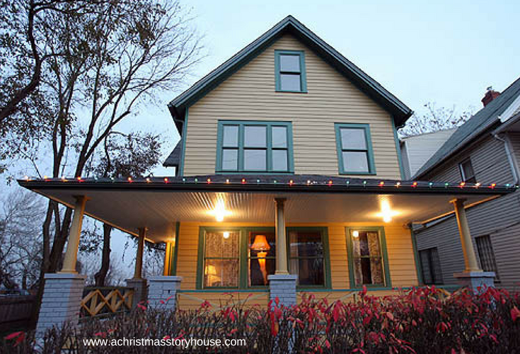 Even though you get a better return on remodeling in fast growing cities there's nothing like the nostalgia of this home. A Christmas Story home in Cleveland Ohio with the original leg lamp. | Innovate Building Solutions blog