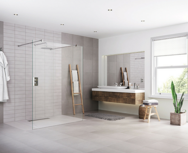 A one level universal design bathroom remodel offers a high return on remodeling. | Innovate Building Solutions