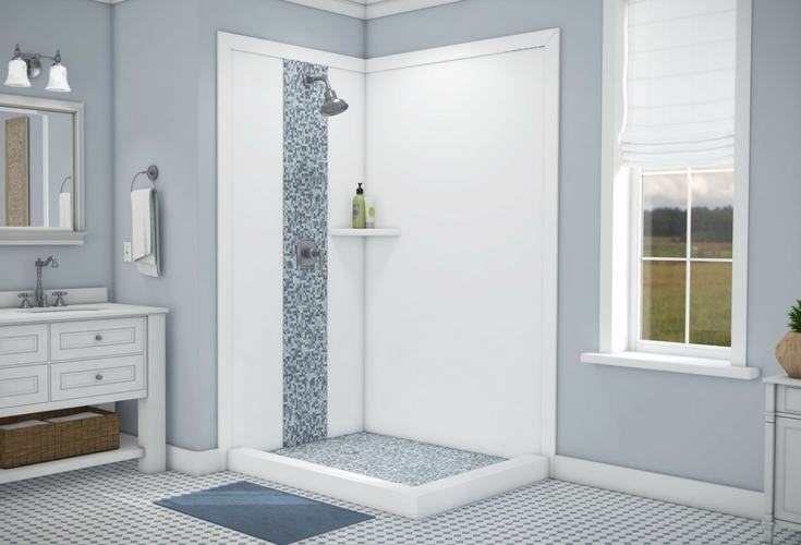 Beau DIY Shower Wall Panels Can Be Used For Standard Or Custom Sized Showers |  Innovate Building