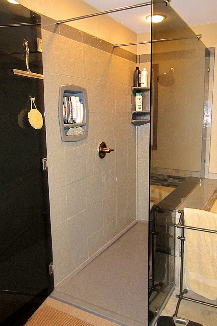 Solid Surface Wall Cladding : Custom shower wall panels things nobody tells you that