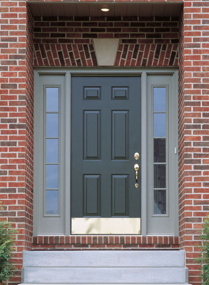 Steel entry doors have a high return on remodeling investment like this one in Columbus Ohio.   Clear Choice Window & Door division of Innovate Building Solutions