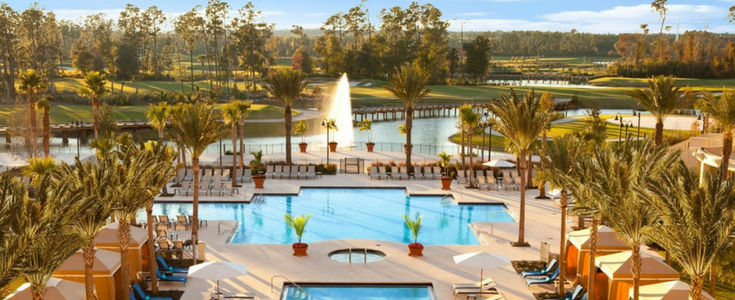 Waldorf Astoria Hotel in Orlando Florida