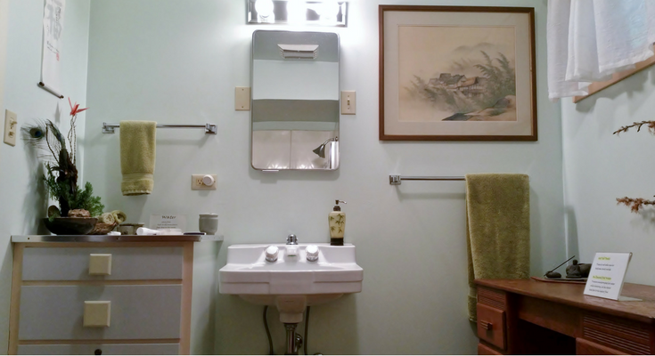 A Spa Bathroom Remodel In A Vacation Home Rental Sonoma Country - Bathroom remodel contractors in orange county ca