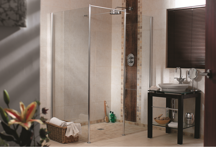 Barrier free shower base wet room system | Innovate Building Solutions