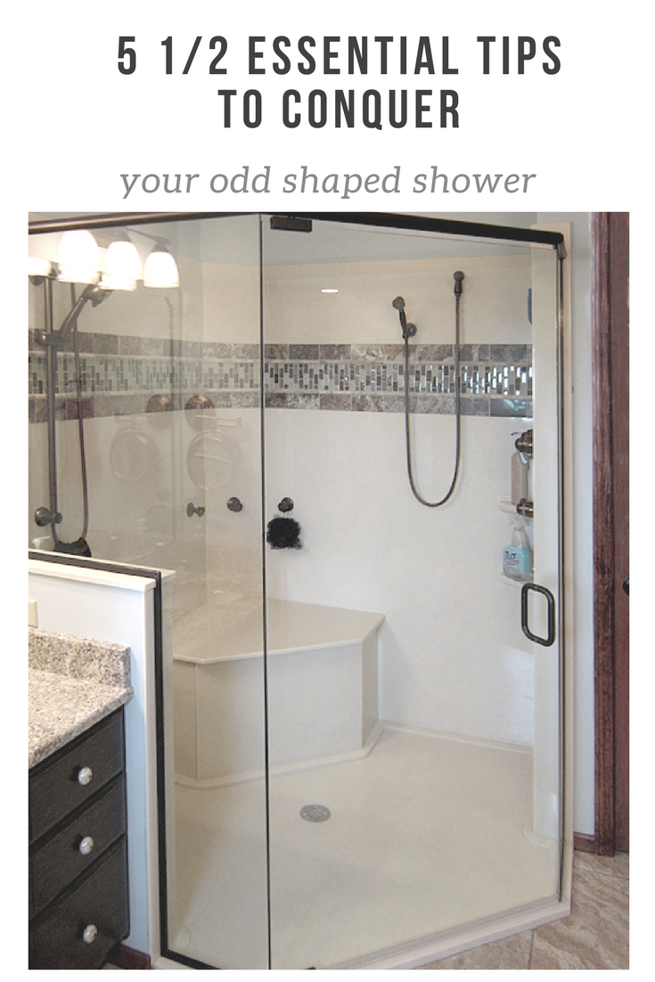 5 essential tips to conquer your odd shaped shower | Innovate Building Solutions