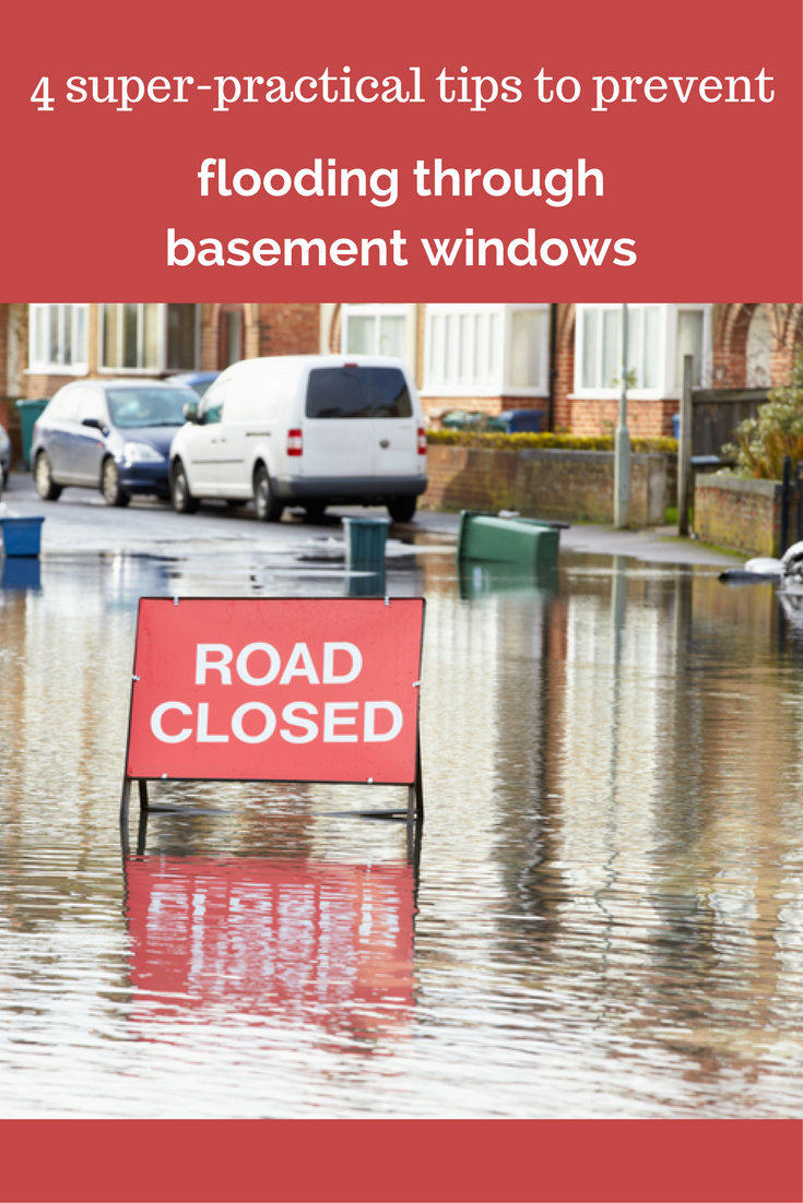 4 super practical tips to prevent flooding through basement windows | Innovate Building Solutions
