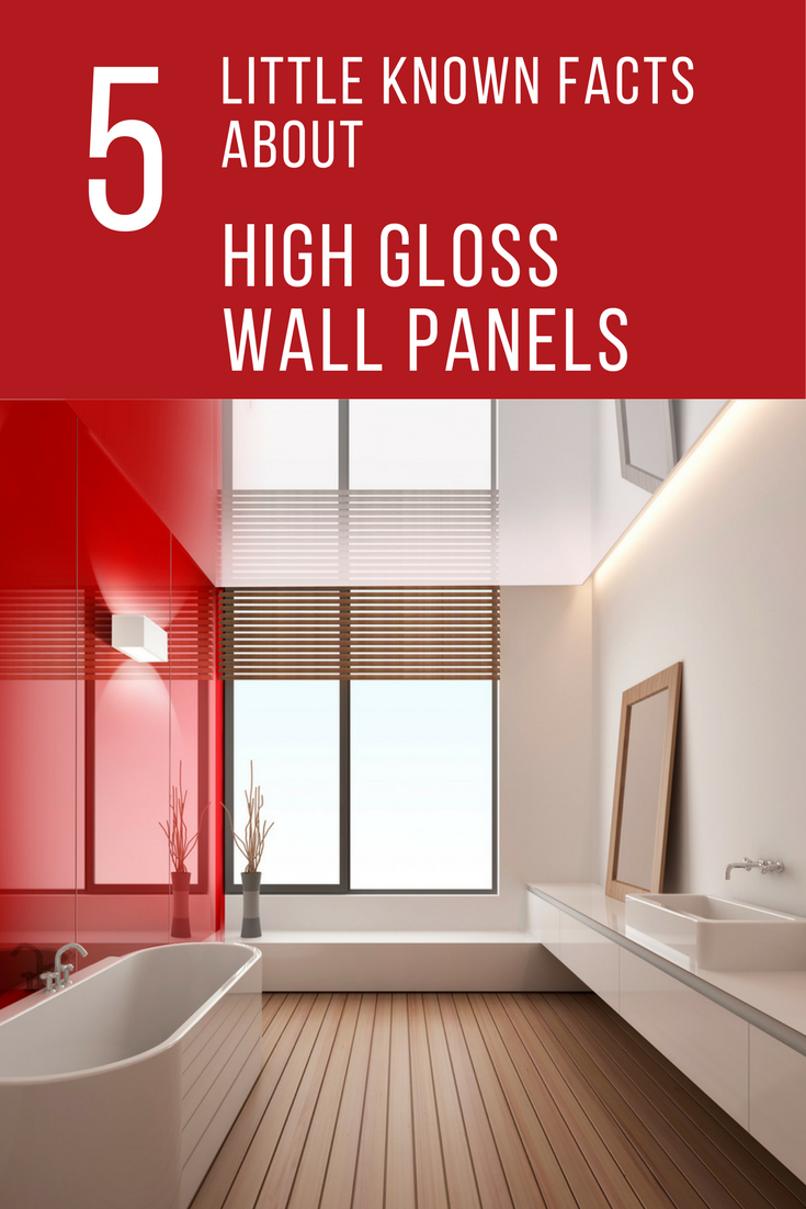 Decorative High Gloss Acrylic Wall Panels For Showers