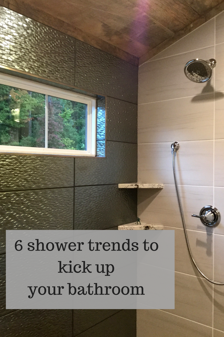 6 shower trends from the Columbus BIA Parade of Homes 2017 with 3 Ideas I'd like to see new year | Innovate Building Solutions