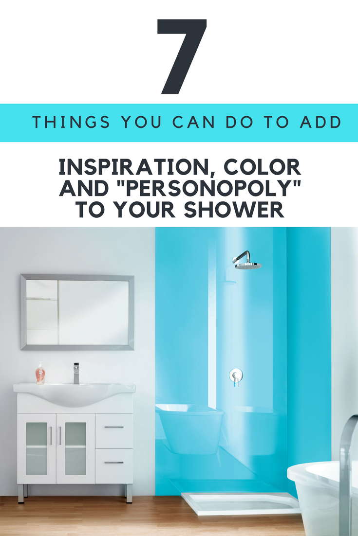 7 things you can do to add color and inspiration to a shower enclosure | Innovate Building Solutions
