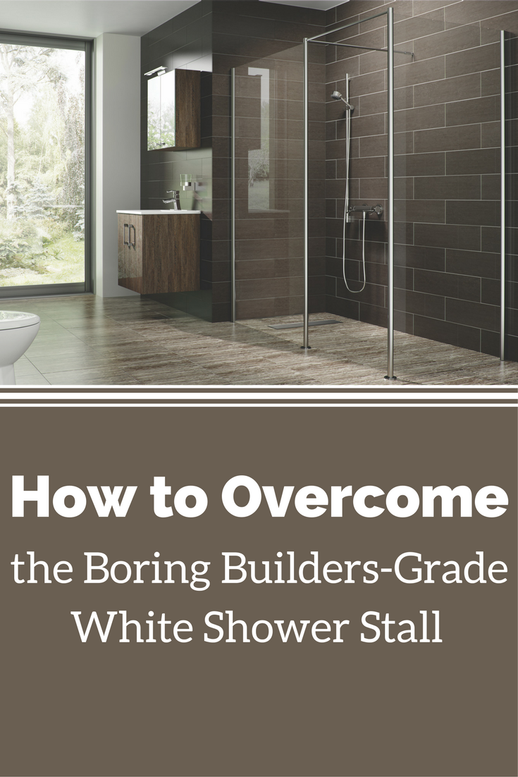 How to Overcome the Boring Builders-graded White Shower Stall | Innovate Building Solutions | #ShowerSystems #WhiteShowerWalls