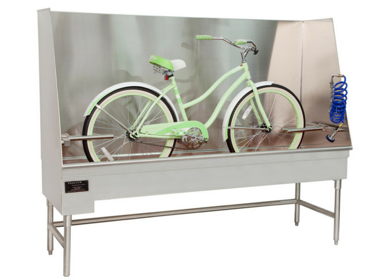 7 Fun Ideas from The 2018 International Builders Show Bicycles for Bathtubs | Innovate Building Solutions Blog #Bicycles #BicyclesForBathtubs #Bike #BikeCleaning