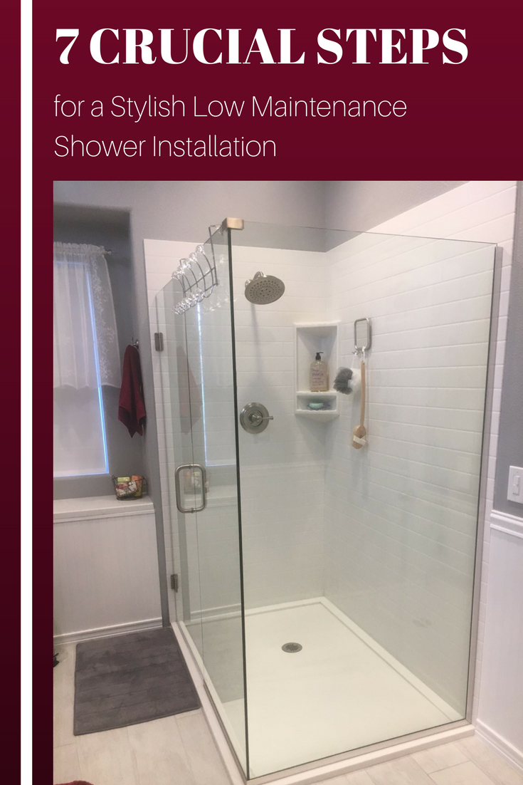 Learn 7 Crucial Steps for a Stylish Low Maintenance Shower Installation | Innovate Building Solutions #ShowerRemodel #WallPanels #ShowerInstallation