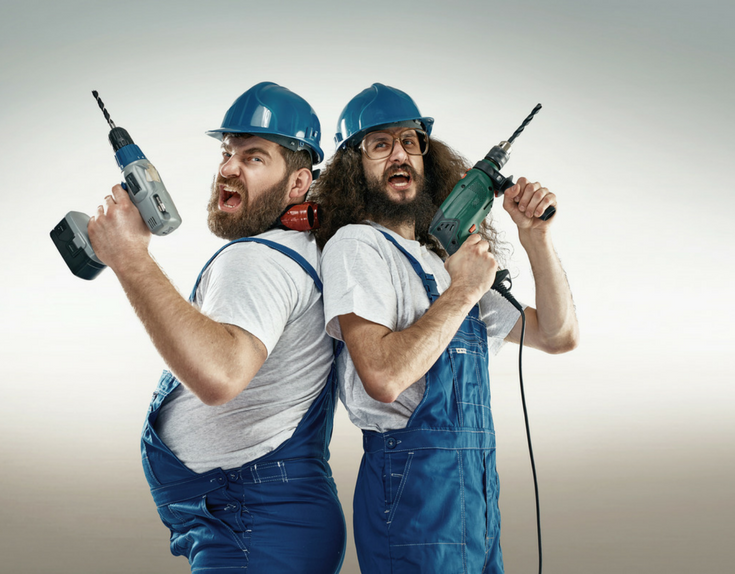 crazy looking contractors | Innovate Building Solutions