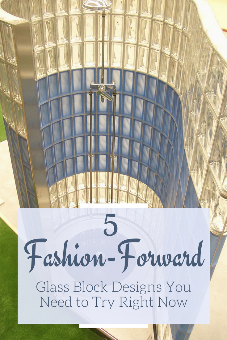 5 Fashion Forward Glass Block Designs You Need to Try | Innovate Building Solutions | #GlassBlockDesign #ColorGlassBlock #ShowerGlassBlock