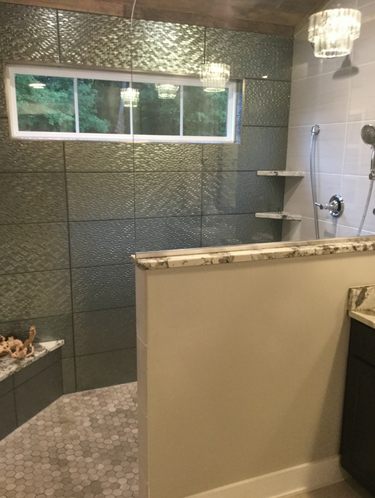 Bathroom Remodeling | Innovate Building Solutions | #ClevelandRemodel #BathroomRemodeling #ShowerRemodelingProject