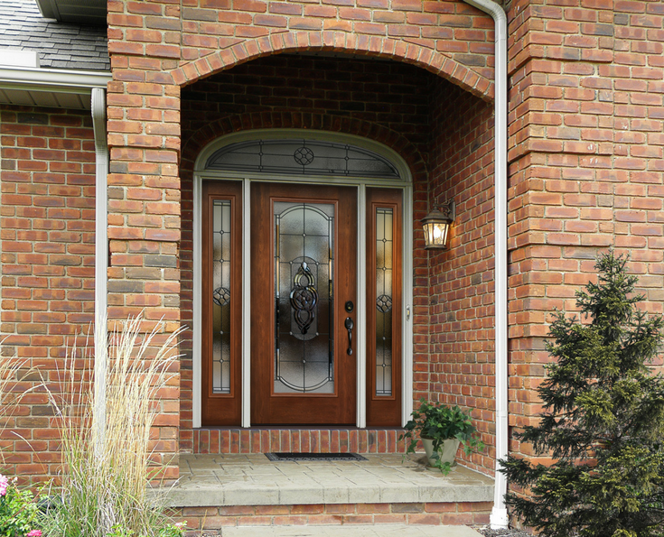 Front Entry Door | Innovate Building Solutions | #ClevelandRemodeling #FrontDoor #ClevelandStormDoor