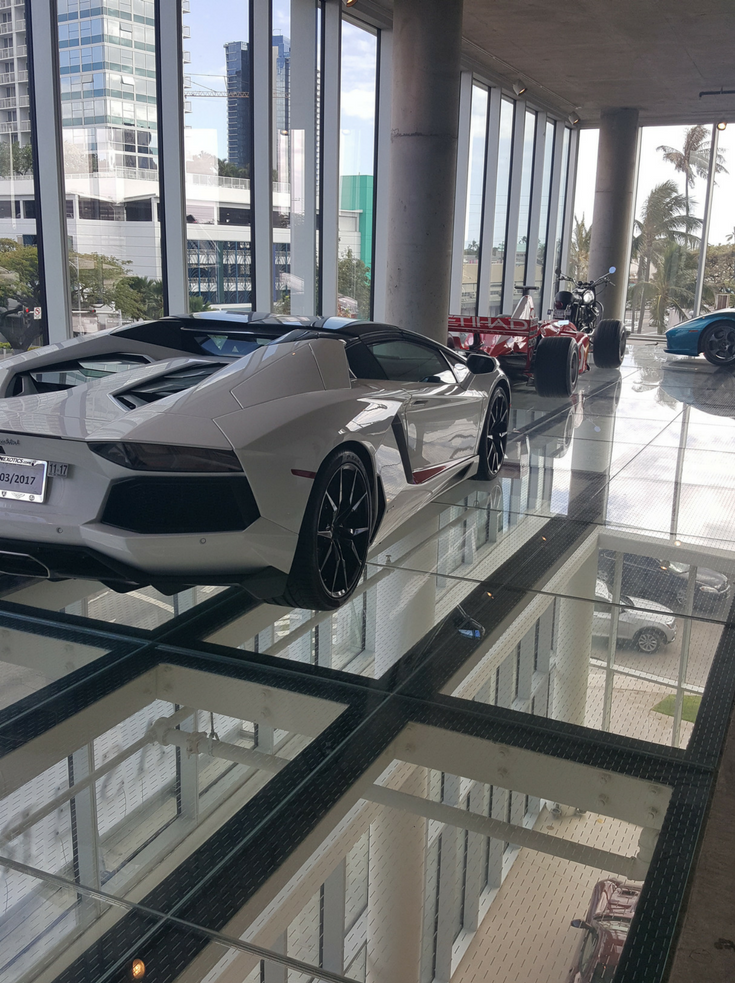 Glass floors can hold heavy objects like sports cars if they are supported with the right structural framing system | Innovate Building Solutions