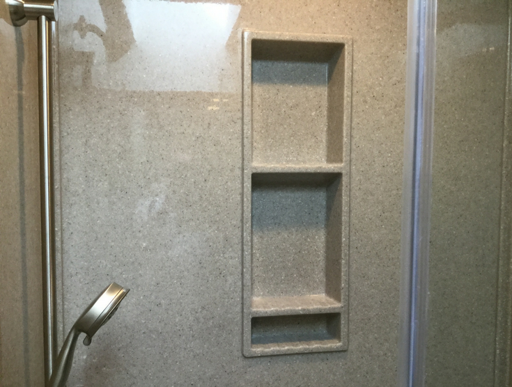 Recessed Niche for Shower Products | Innovate Building Solutions | #RecessedNiche #ShowerAccessories #ClevelandRemodel