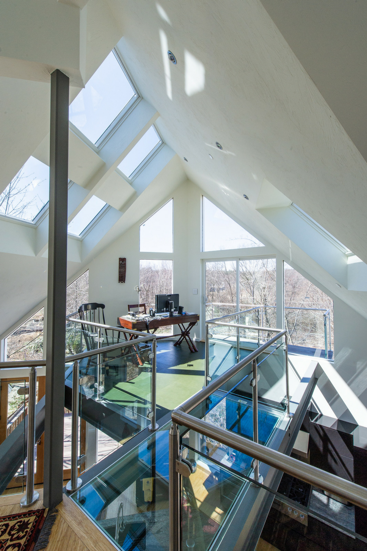 Windows and Patio doors Connected to Outdoors | Innovate Building Solutions | #PatioDoors #GlassCeiling #GlassBridge