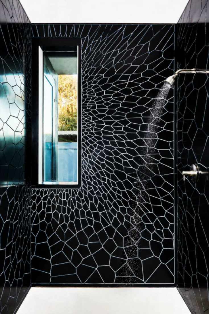 Corian Textured Wall Panels | Innovate Building Solutions | #CorianWallPanels #TexturedWalls #ShowerWalls