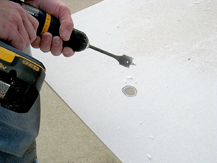 Solid Surface Cutting is Not Hard | Innovate Building Solutions | #SolidSurfaceProducts #CustomBase #ShowerPanels