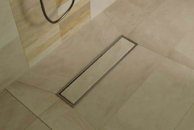 Large Tiles for Shower | Innovate Building Solutions | #TiledShower #LargeTiles #CleaningGrout