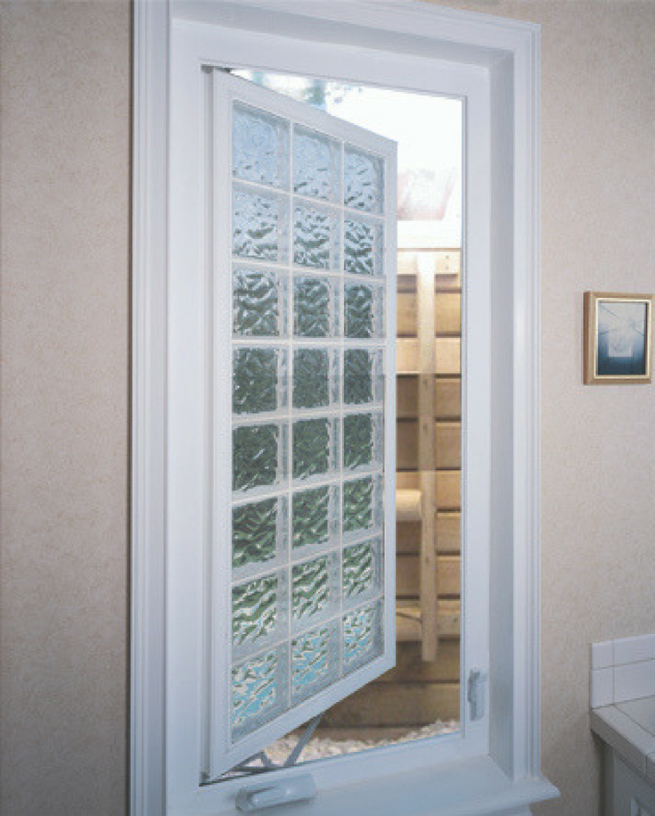 Acrylic block egress window | Innovate Building Solutions | #AcrylicBlockWindows #BasementWindows #EgressWindows