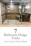 7 Bathroom Design Tricks Every Empty Nester Needs