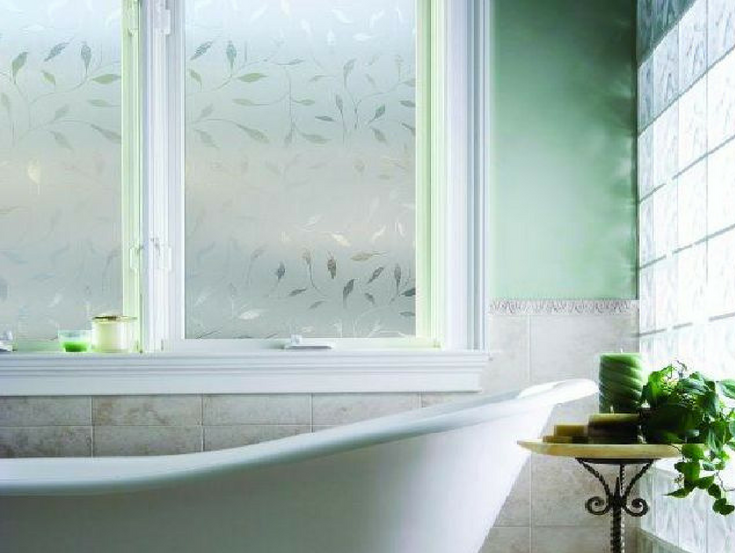 Window film for bathroom window | Innovate Building Solutions | #WindowsFilm #BathroomWindow #ShowerWindow