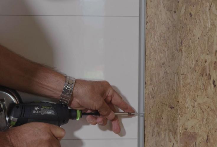 Easy to install DIY wall panels | Innovate Building Solutions | #LaminatePanels #EasyInstall #WallPanelsInstallation