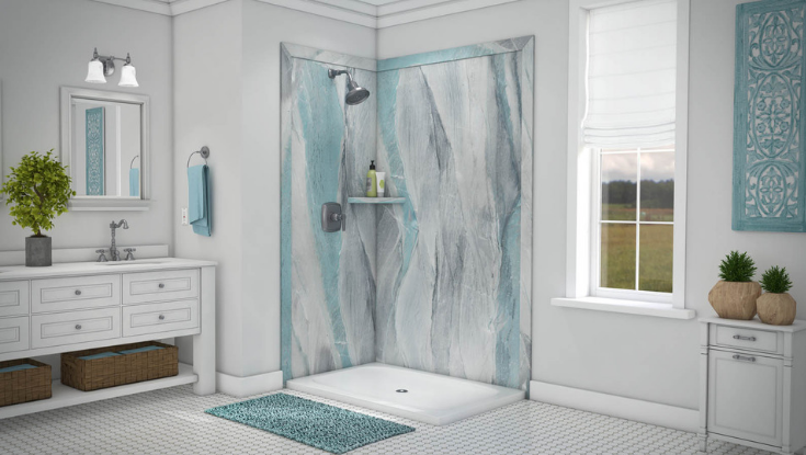 Grout Free Shower and Bathroom Wall Panels – 5 Reasons to
