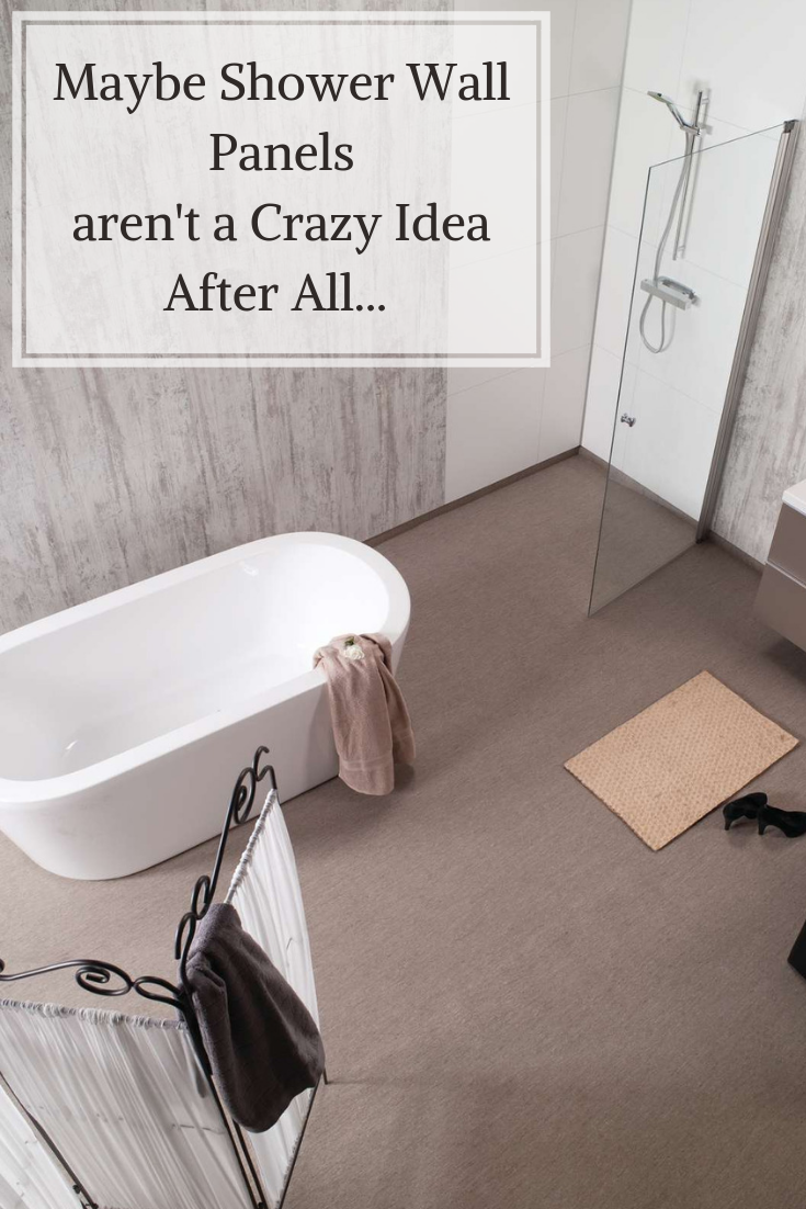 Maybe shower wall panels aren't a crazy idea after all | Innovate Building Solutions | #ShowerPanels #GroutFreeShower #BathroomRemodel