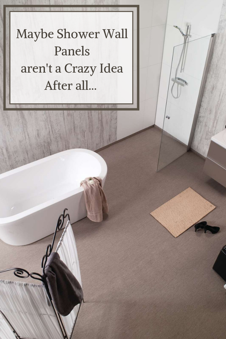 Maybe Shower Wall Panels aren't a Crazy Idea After All…