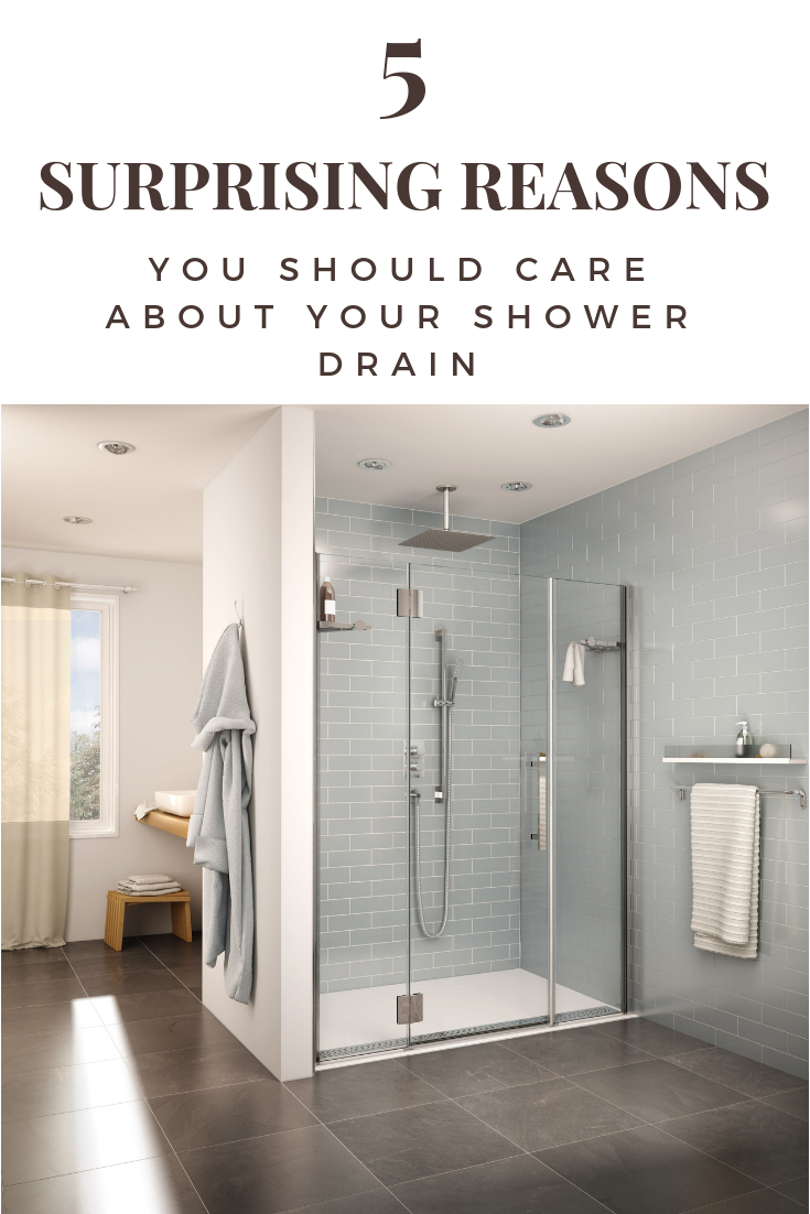 5 Surprising Reasons You Should Care about your Shower Drain | Innovate Building Solutions | #ShowerBase #ShowerDrain #BathroomRemodel