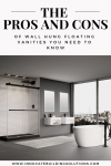 The Pros and Cons of Wall Hung Floating Vanities You Need to Know