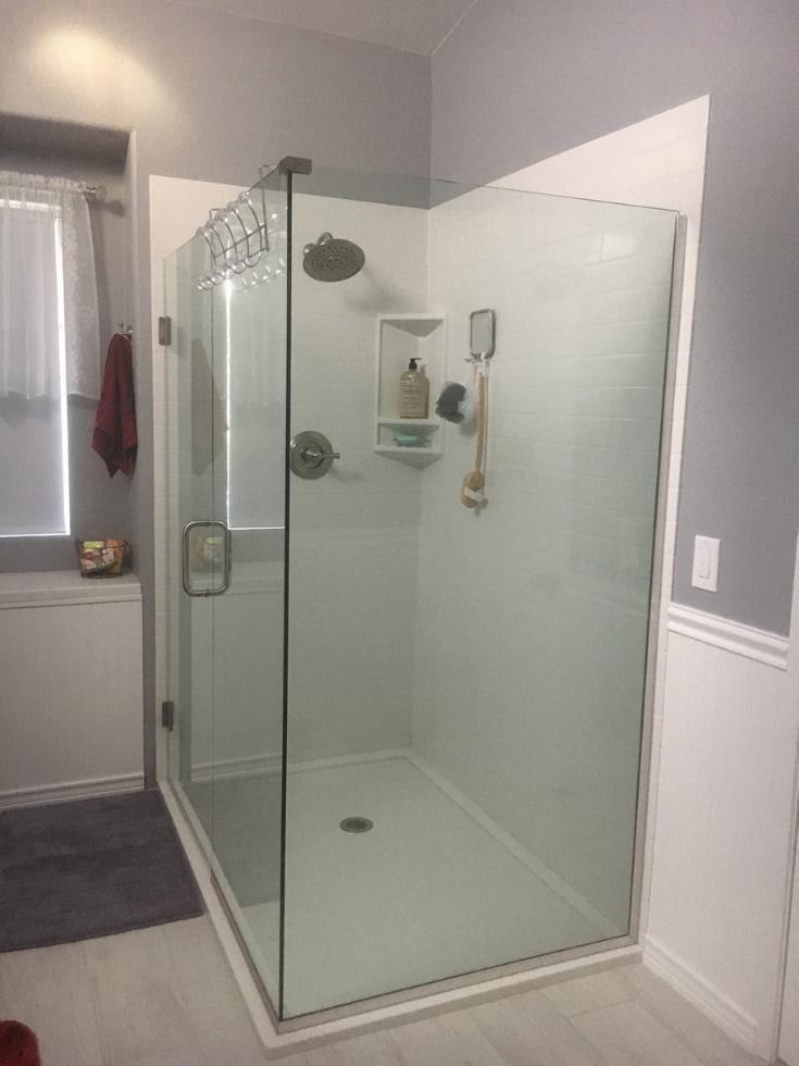 How to Compare Cultured Stone & Laminate Bathroom & Shower ...
