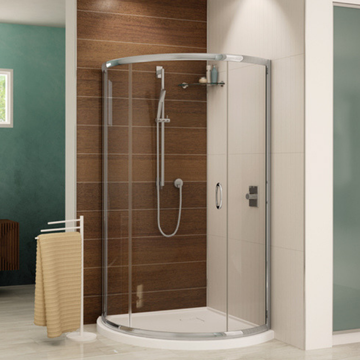 low profile shower pan | Innovate Building Solutions | #ShowerPan #LowProfilePan #BathroomRemodel