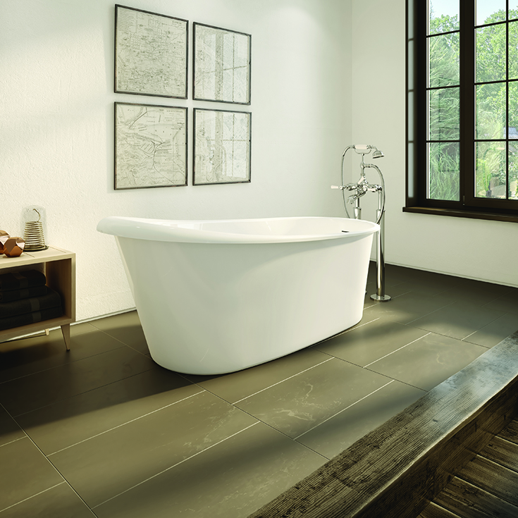 Acrylic free standing bathtub | Innovate Building Solutions | #Freestandingtub #ShowerBathroom #Bathtub