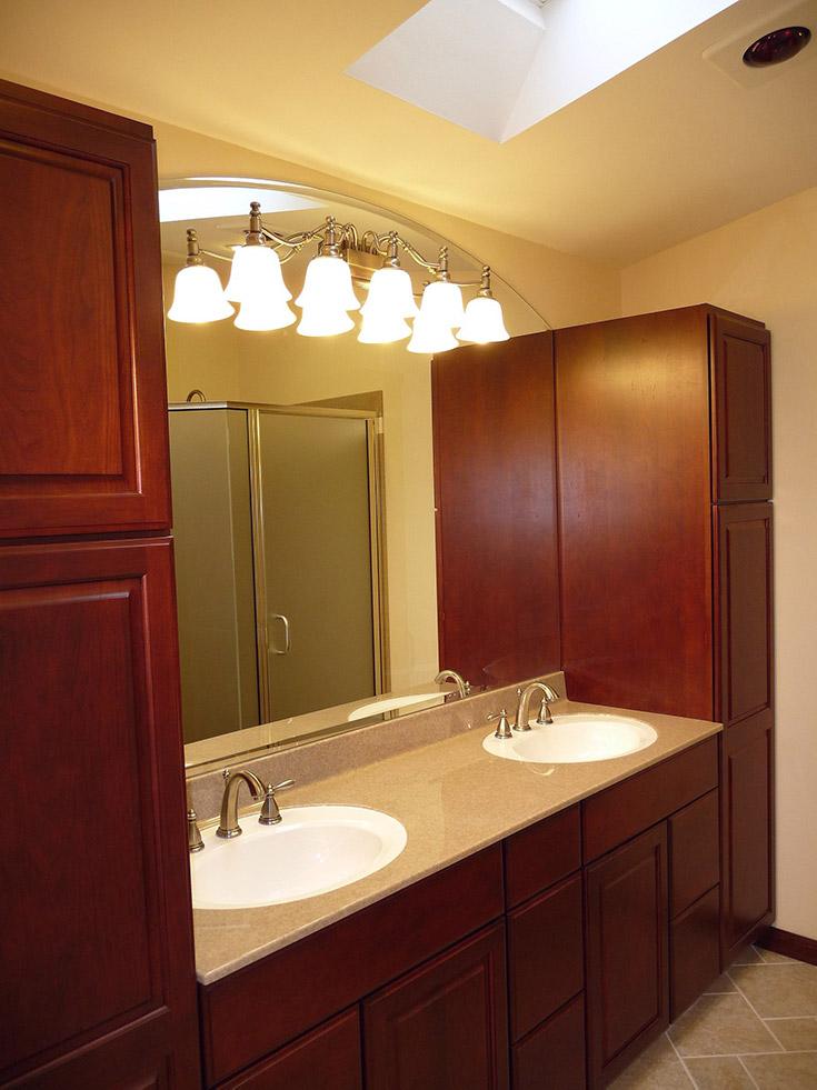 cultured granite vanity top   Innovate Building Solutions   #VanityCountertop #VanityTop #CulturedGranite