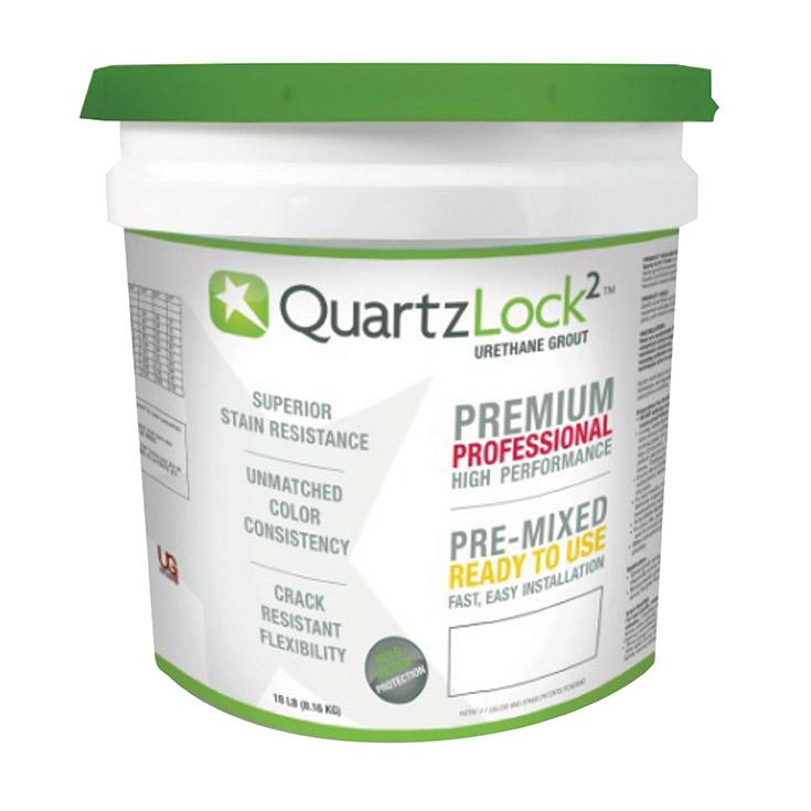 bucket of urethane grout | Innovate Building Solutions | #UrethaneGrout #GlassBlockShower #ShowerRemodel