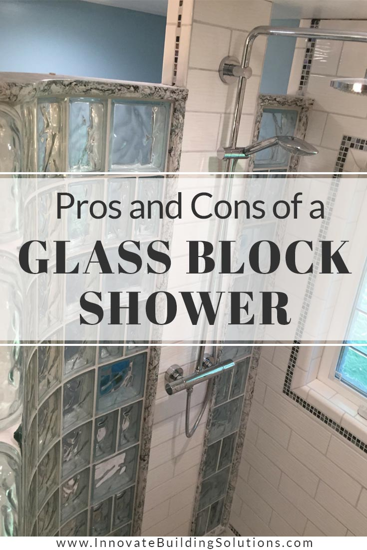Pros and Cons of a Glass Block Shower