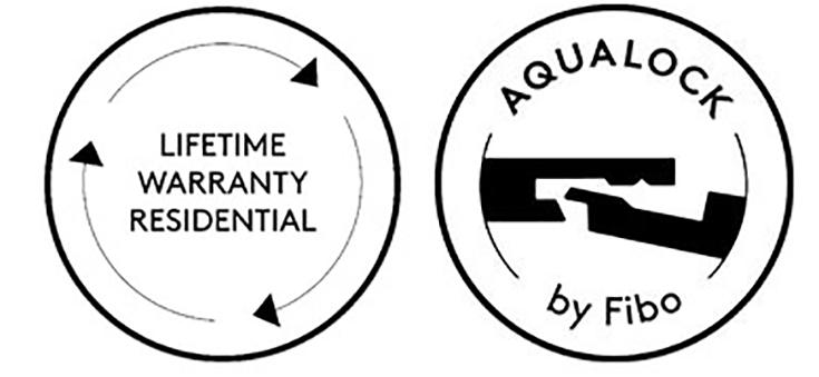 lifetime residential warranty patented aqualock system | innovate Building Solutions | #AquaLock #FiboWallPanels #LifetimeWarranty #BathroomRemodel