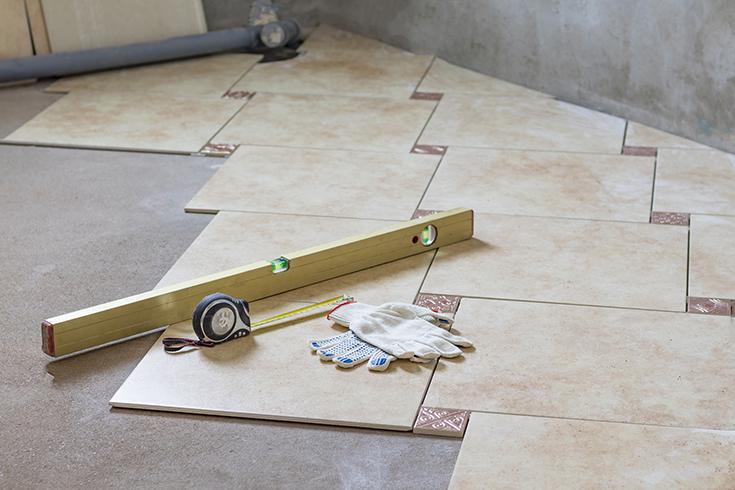 Advantage 3 tile custom fit for a custom sized shower | Innovate Building Solutions | #TIle #CustomTile #ShowerRemodel