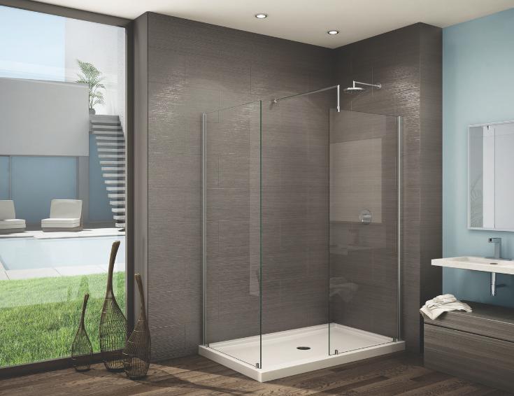 Feature 2 men large walk in shower bigger opening | Innovate Building Solutions #BathroomRemodel #WalkInShower #ShowerRemodel #BathroomRemodeling