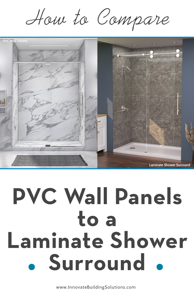 How to Compare PVC Wall Panels to a Laminate Shower Surround