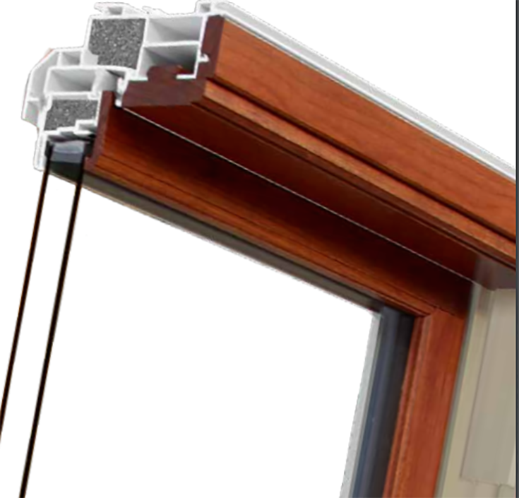 Pro 5 welded vinyl multi chamber window sashes and frames which are hard to crack or dent | Innovate Building Solutions #VinylWindows #WeldedWindows #WoodenWindows