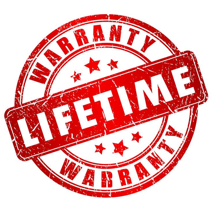lifetime warranty stamp | Innova